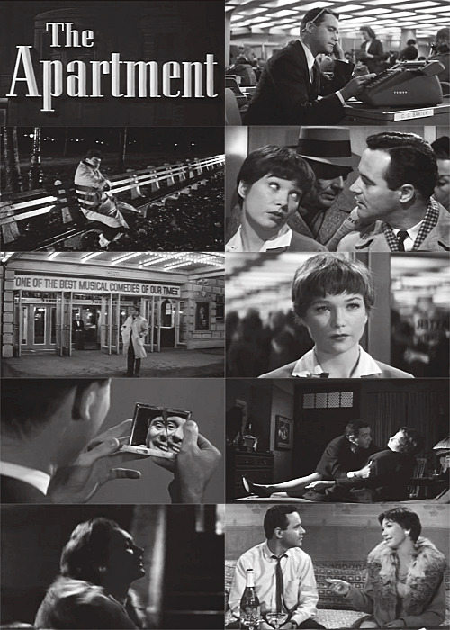 "neverabriefcaseinparis:  The Apartment (1960)  ""You think it's the end of the world - but it's not."""