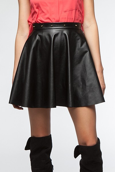 Or perhaps a skater skirt to re-visit my youth, LOL Nice knee high suede boots too.