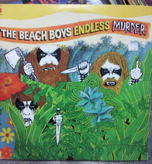 bargainbinblasphemy:  THE BEACH BOYS - ENDLESS MURDER.