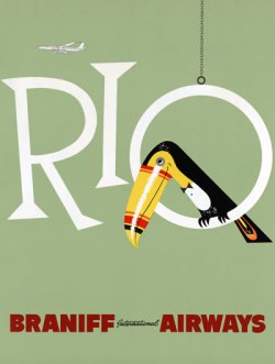 Braniff Airways - Rio