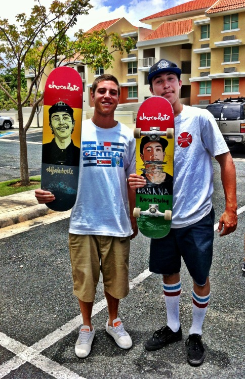 centralskateco:  Trunk Boyz Representing Central all the way in Puerto Rico.