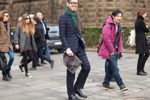 Pitti Uomo January 10, 2013
