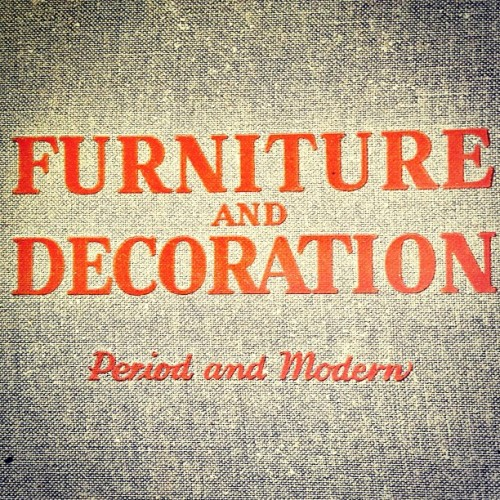 #furniture #decoration #period #modern #vintage #book #brimfield