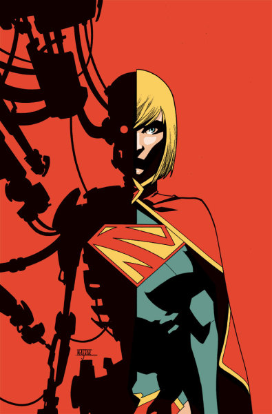 herochan:  Supergirl #21 Cover Art Created by Mahmud A. Asrar  Very cool indeed.