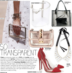 (via Accessory Trend: So Transparent)