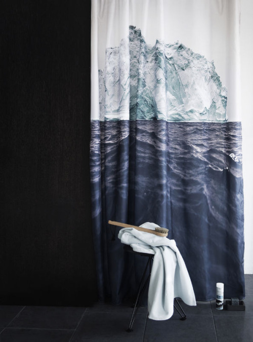 Shower Curtain  by Nord via Decor8