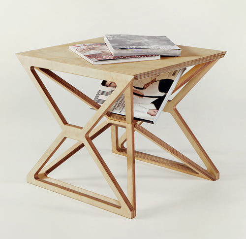 idreamcreateandadmire:  Spaceframe Furniture by Gustav Düsing Jaime Derringer, design-milk.com