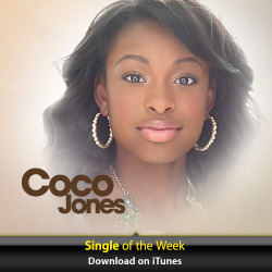 therealcocojones:  I'm so honored to have Deja Vu featured as the iTunes Single Of The Week, thank you so much! If you don't have it yet, get it now y'all! http://smarturl.it/cjiTunesep1