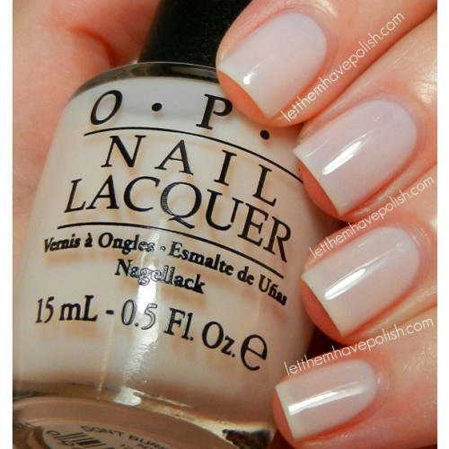 @opi_products Dont Burst my Bubble. I love this soft, Pinkish-White jelly. I also love the name. This shade is from the Oz collection by #opi. #officialletthemhavepolish #nailpolish #nailcolor #nails #nofilter #cflbeautyblogger