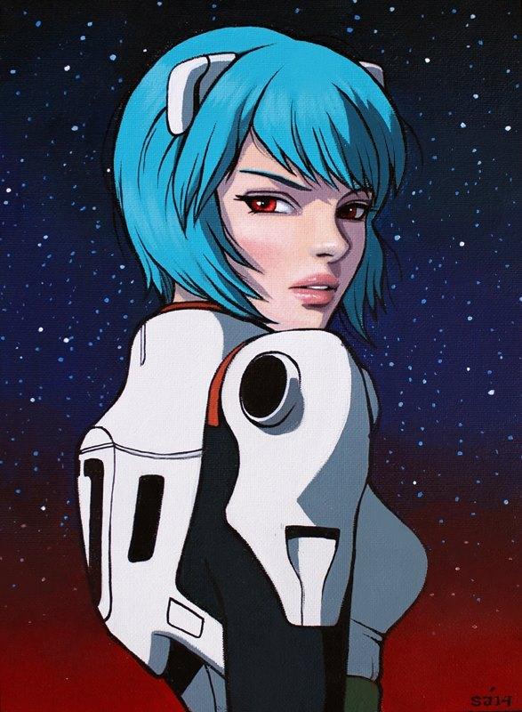 Ayanami by Sarah Joncas