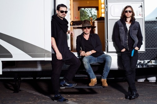 Thirty Seconds to Mars for Rolling Stone, Irvine CA 2013.
