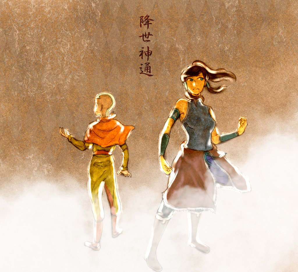 iamalfff:  (via avatar the old and the new chief character by ~kaoringring on deviantART)