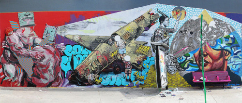 Living Walls / Fountain Art Fair colabo in Miami by L`N`Y on Flickr.