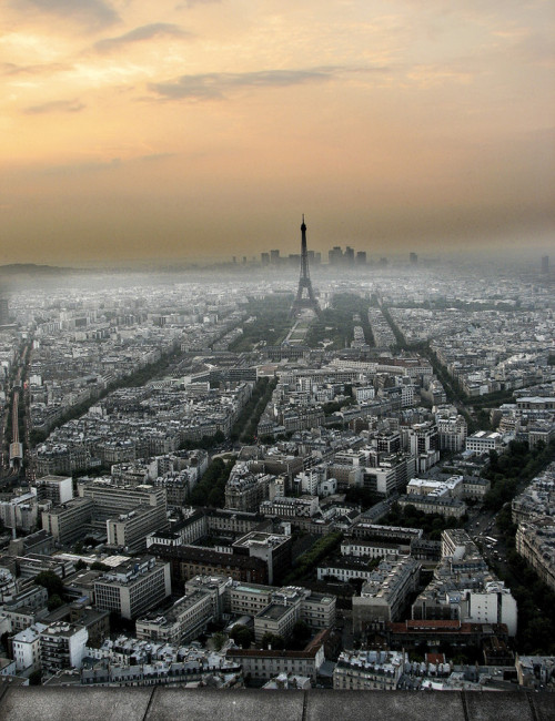 travelingcolors:  París from Montparnasse Tower | France (by Jesús Sánchez Ibáñez)