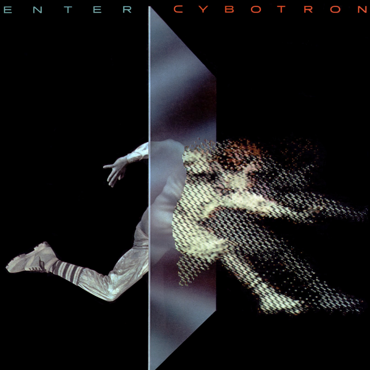 Cybotron 'Enter', Fantasy, 1983. Art direction by Phil Carroll, cover illustration by Jamie Putnam.