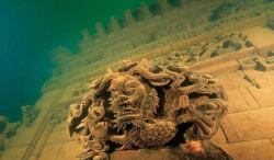 Lost Underwater Lion City: Rediscovery of China's 'Atlantis' Once upon a time, an ancient city in China was named Lion City because Five Lion Mountain loomed large behind it. The city, also known as Shi Cheng, has been buried beneath the water for 53 years. Like the lost Incan City of Machu Picchu was 'rediscovered,' so was this lost underwater city that had been founded about 1,300 years ago. Lion City is now located about 85 – 131 feet (26-40 meters) beneath the gorgeous Thousand Island Lake (Qiandao Lake). This valley was submerged when a dam was constructed and a lake was needed. The lake and thousands of islands were man-made. Shi Cheng 'defied' the Chinese norm since 5 gates and 5 towers were built into the city instead of 4. Lion City is about the size of 62 football fields. International archaeologists and a film crew recorded the amazing perservation of the lost 'ruins.
