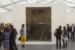 this piece…  Galerie Thaddaeus Ropac   A work by Sigmar Polke Frieze New York 2013