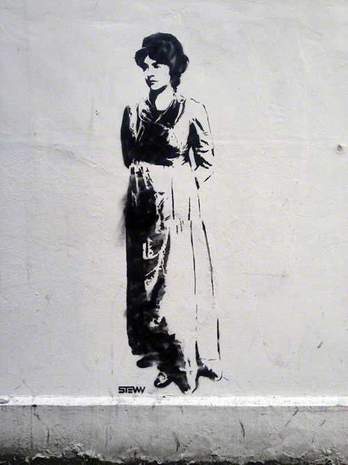 paulrichardsdesign:  ::: Found ::: Mary Wollstonecraft – Newington Green, London [April 7, 2013]Artist: Stewy