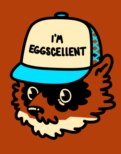 illseabass:  Eggscellent, 2013For the Threadless Regular Show design contest. Vote here!