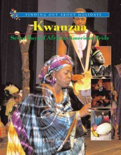 Today marks the first day of Kwanzaa, the seven-day celebration honoring African heritage in African-American culture. Observed from December 26 to January 1 each year, Kwanzaa has seven core principles: Umoja (Unity), Kujichagulia (Self-Determination), Ujima (Collective Work and Responsibility), Ujamaa (Cooperative Economics), Nia (Purpose), Kuumba (Creativity) and Imani (Faith).   Check out Kwanzaa: Seven Days of African-American Pride and the other great books the NYPL has celebrating this wonderful holiday! Happy Kwanzaa!