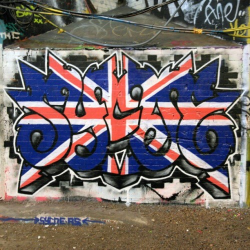 #streetartlondon by #Sycoe  (at Leake Street Tunnel)
