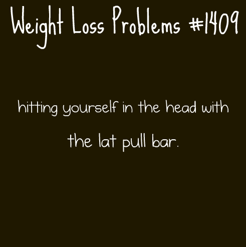 weightlossproblems:  Submitted by: collarbonesareagirlsbestfriend  I swear I do this all the time, it's so embarrassing.