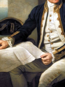 James Cook, portrait by Nathaniel Dance 1775