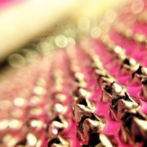 So Grate. Kitchen Series 1 #macro #photography #sharp #perspective #kitchen #home #color #bright #pink #sparkle #shimmer #KGD