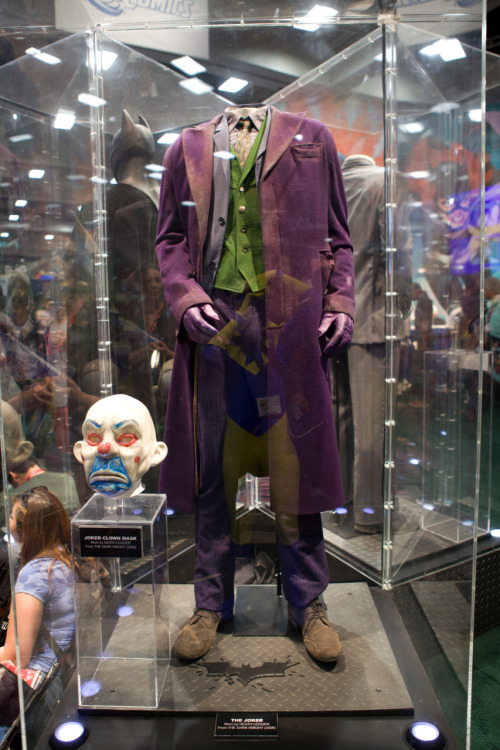 Original Heath Ledger Joker costume & bank robbery clown mask.