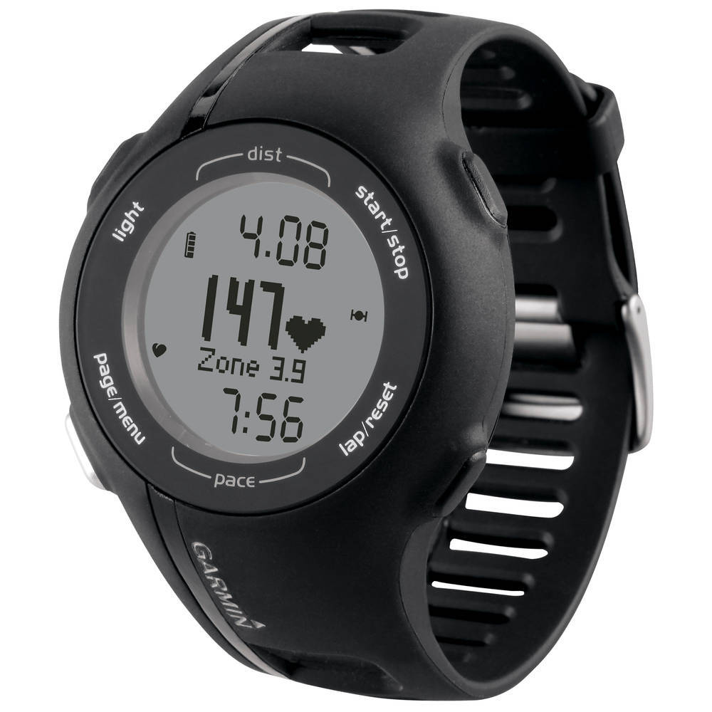 I decided to go with the Garmin Forerunner 210. It's been around for a few years and seems to be a solid, entry-level GPS watch with HRM. I gave serious consideration to the 410, but opted for this model because of the buttons, rather than the touch-screen. Should be here next week. Normally I'd go through Amazon.com and it'd be here in two days, but I have a gift card for Dick's Sporting Goods, so I used it there. What disaster that was. How do they stay in business? For starters, they don't carry the 210, 410 or 305 in stock. The only Garmin they have is the 10. What? Secondly, to get the free shipping, I have to order in the store. Both Amazon and DSG sell the Garmin 210 for $249.99, but Amazon doesn't have to charge sales tax (for the time being). DSG does have to apply sales tax, which where I live is another $12.50. Amazon can ship the item to me in two days thanks to my Prime membership. DSG won't ship until May 10 at the earliest and then it'll take about five business days. Traditional brick and mortar stores need to get with the times if they want to stay in business. Even when Amazon has to start charging sales tax, I'll still order from them because most of the time, I can get the item in two days. So, if that's the only difference, why wouldn't you choose Amazon? Normally I would have gone with Amazon, but I had an awesome gift card from my Tumblr Buddy that I've been waiting to use!
