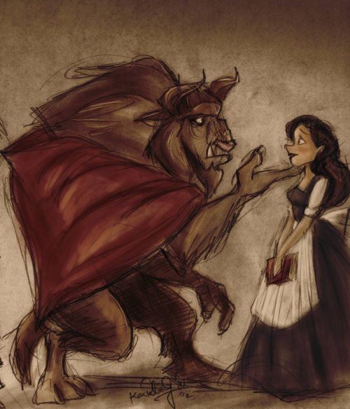 karendelagarzaproject:  Beauty and the Beast by ~TottieWoodstock