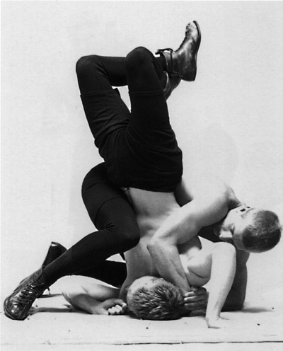androphilia:  Head Lock by Luke Smalley, 1998