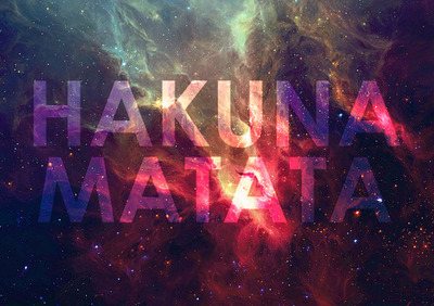 fashion-isnt-just-a-trend:  HAKUNA MATATA ✌ | via Tumblr on We Heart It. http://weheartit.com/entry/59703256/via/Leeeea_