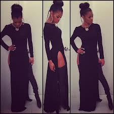 SHE IS FIRE! In this dress! 😍😍 teyana taylor