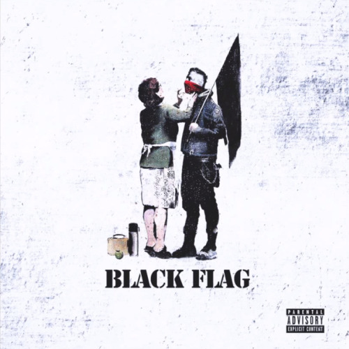 New mixtape cover. BLACK FLAG