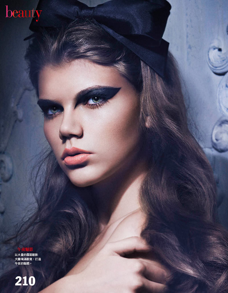 (via Tak Sugita Lenses 60s Inspired Beauty Looks for Vogue Taiwan)