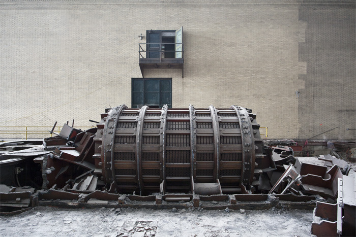 Dismantled Turbine, Power Plant, 2012