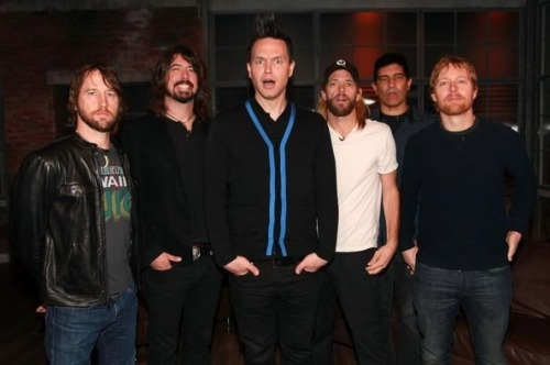 delkreepas:  Mark and the foo fighters