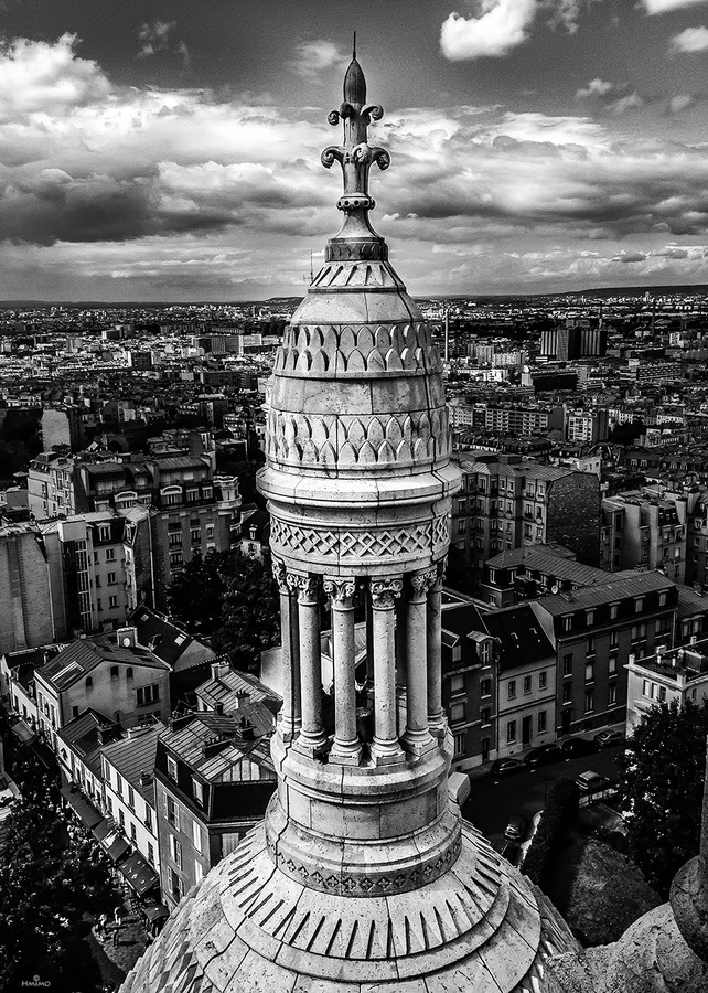 travelingcolors:  From Sacre Coeur, Paris | France (by Selma Hmo)