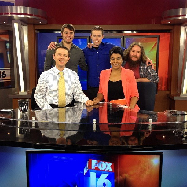 at FOX16 / KARK Mega Newsroom
