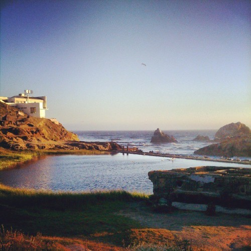 #landscape shot of cliff house (at Cliff House)