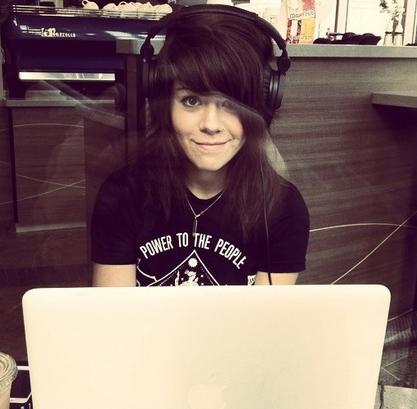 beatusfuckingquinn:  Tay Jardine | We Are The In Crowd