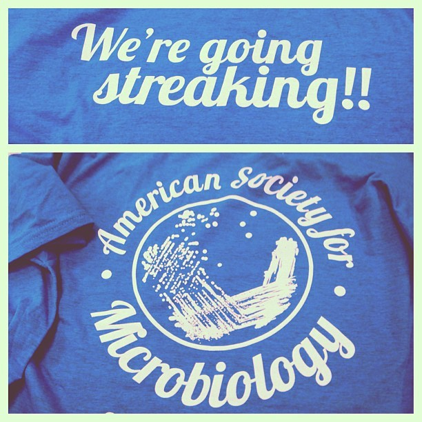 how-to-behave:  My new shirt! #science #nerdy #microbiology #punny