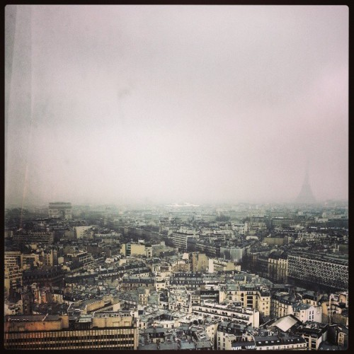 View from the room 28th floor Hotel Concorde Lafayette #Paris