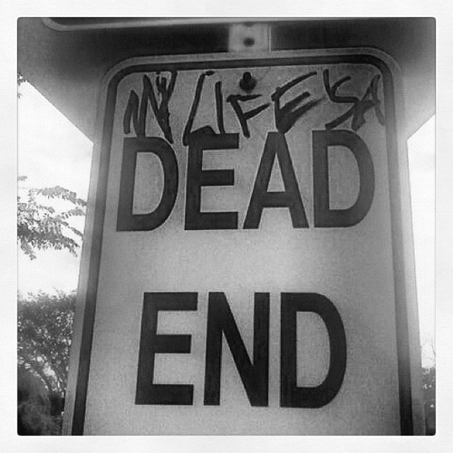 voidofallpassion:  My #life is a #dead #end