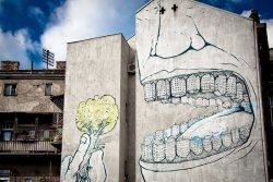 autopsi-art:  By Blu in Belgrad, Serbien