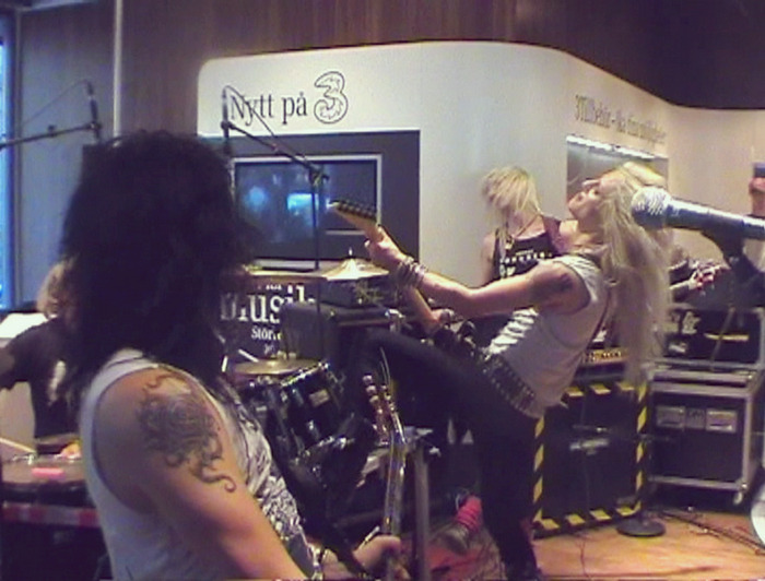 Crashdïet Live in Stockholm - from the Rest In Sleaze DVD.