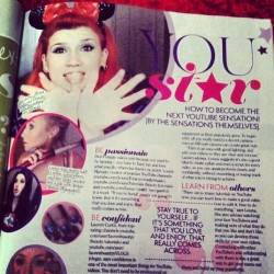 What's up @girlfriendmag :)  I am IN you! (Thanks for the pic Kitty!)
