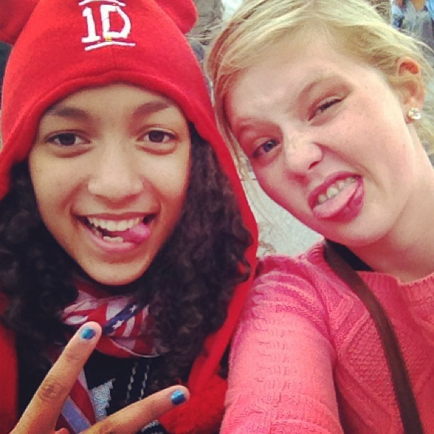Concert of 1D #best#moment#of#my#life <3 !!!! #best#evening#ever <3 @mathildefagard & @maureenacx & Morgan <3