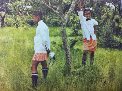 Real boys in real skirts.  #Zwelethu Mthethwa